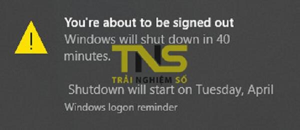 Hướng dẫn thiết lập hẹn giờ tắt máy qua của sổ Run Win 8 Win 10
