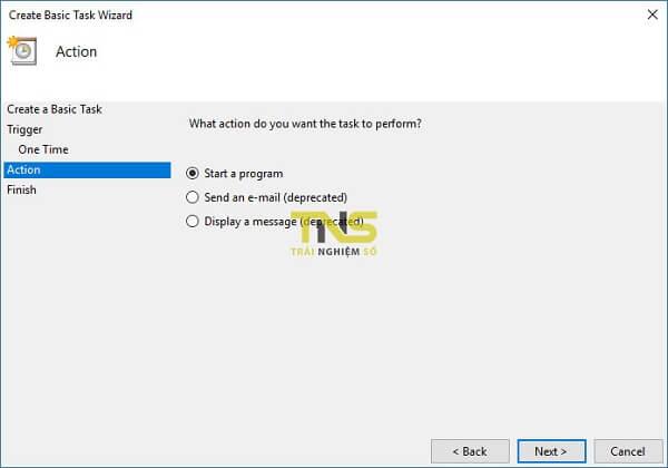 Cách hẹn giờ tắt máy theo lịch (Task Scheduler) ở win 10