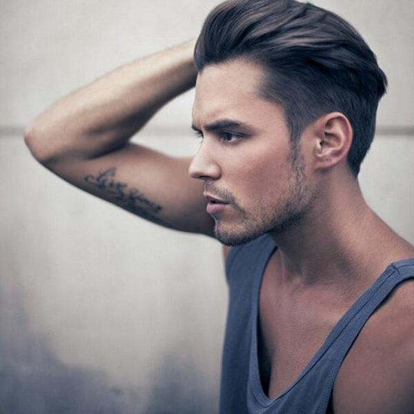 Những anh chàng châu Âu cực hợp với kiểu tóc Undercut sang trọng này.