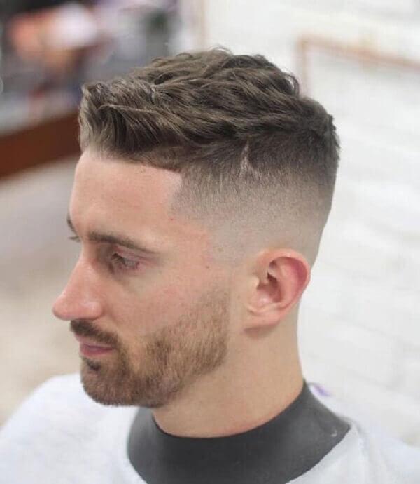 Kiểu tóc undercut nam mái ngắn
