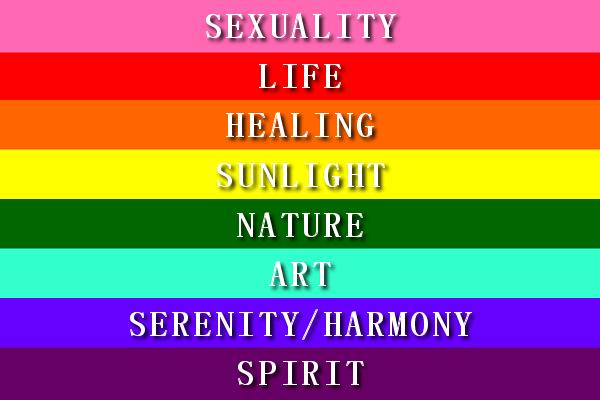 Biểu tượng lá cờ 7 màu của cộng đồng Lgbt có ý nghĩa gì?