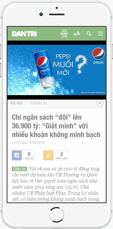 Các ví dụ về Native Ads của hệ thống Admicro, Native Ads là gì