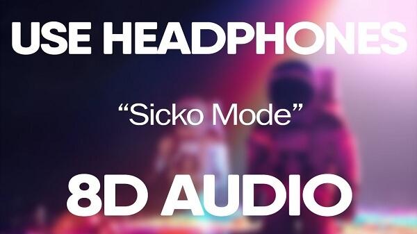 8D Audio có nghĩa là (Eight – Directional), âm thanh được điều chỉnh để phát ra từ 8 hướng.