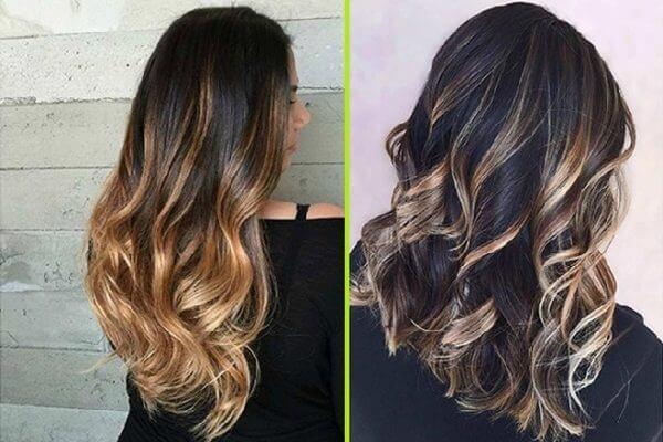 Nếu chưa biết tóc đen móc lai màu gì đẹp với các tông vàng, nàng hãy thử ngay vàng sáng cực nổi bật này nhé.
