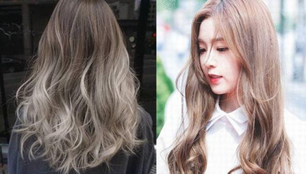 Nhuộm tóc ombre được các bạn trẻ yêu thích trong khoảng 2 năm trở lại đây - tóc móc lai đẹp, tóc đen móc light tóc màu nào đẹp