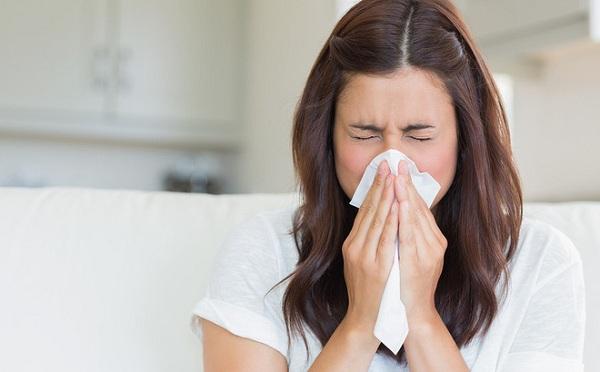 Sổ mũi, nghẹt mũi và đau nhức vùng quanh mũi