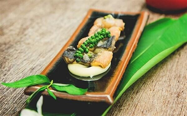 Cách làm lươn chiên giòn sốt tiêu xanh