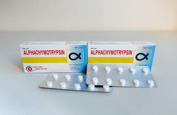 Thuốc Alphachymotrypsin có tác dụng gì, chữa bệnh gì?