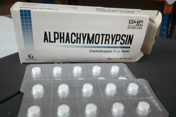 Lưu ý khi sử dụng thuốc Alphachymotrypsin 42 00 iu