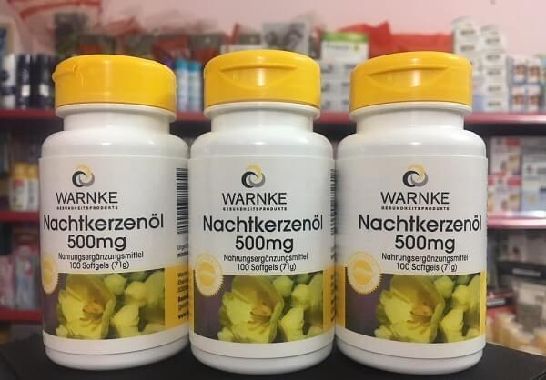 Viên uống tinh dầu hoa anh thảo Nachtkerzenol của Đức