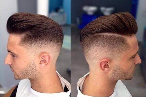 Hướng dẫn cắt tóc nam cạo 2 bên và để gáy đỉnh đầu tại nhà