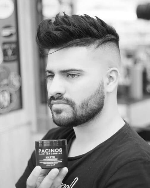Những kiểu biến thể của kiểu tóc undercut có rất nhiều như slick side, slick back, Pompadour, Quiff
