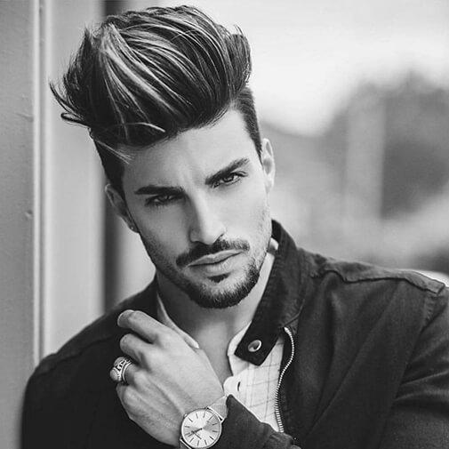 Đây là một kiểu tóc nam Undercut ngắn gọn