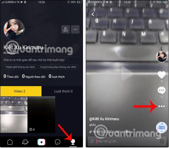 Cách cài đặt và sử dụng cơ bản trên Tik Tok, Cách sử dụng ứng dụng Tik Tok hát theo nhạc