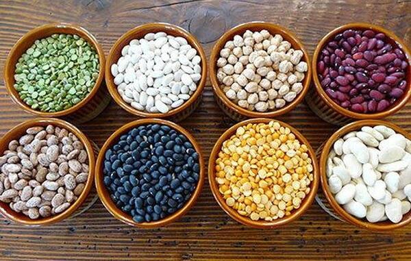 Các loại đậu là thực phẩm giàu vitamin B1
