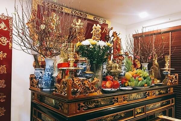 Tìm hiểu về bàn thờ thổ địa nên đặt ở đâu thì hợp lý, vị trí đặt bàn thờ ông địa trong nhà