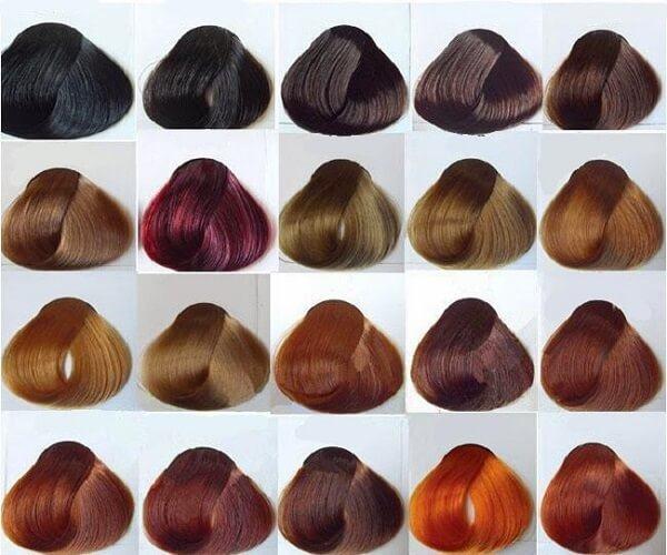 Các tông màu thuốc nhuộm tóc cũng đã được phân loại thành 03 tông chi tiết