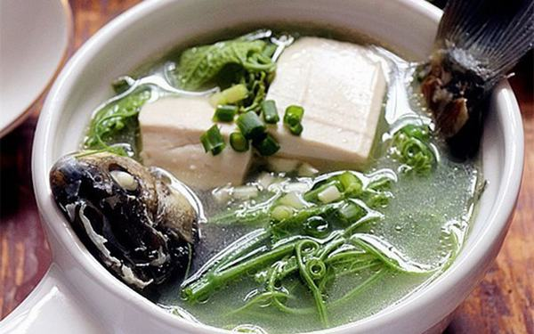 Cách làm canh cá chép nấu đậu phụ lạ mà ngon
