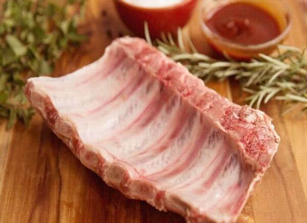 Giá trị dinh dưỡng của thịt heo cũng như sườn non