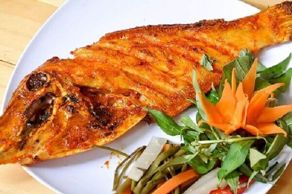 Cá da bò làm gì ngon – cá da bò nướng giấy bạc – nướng muối ớt