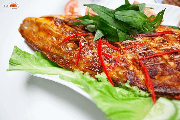 Cách làm cá bò da nướng than hồng