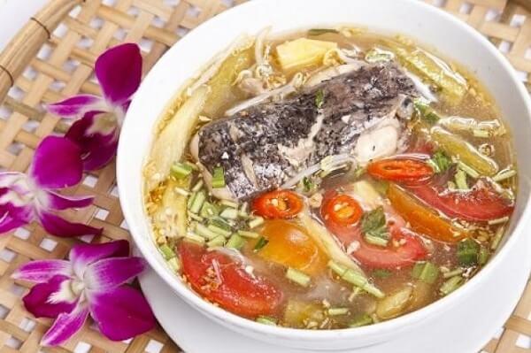 Cách làm canh chua cá bò da đơn giản