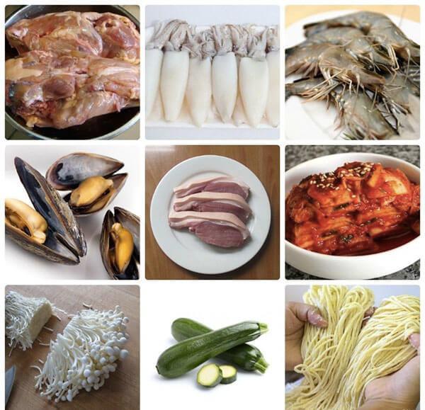 Cách nấu món mì cay Hàn Quốc kim chi, hải sản đơn giản