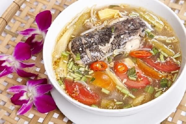 Cách nấu canh chua cá đuối thơm ngon