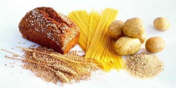 Ngũ cốc là một nguồn cung cấp tinh bột dồi dào