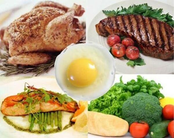 Protein vô cùng quan trọng cho sự phát triển của cơ bắp