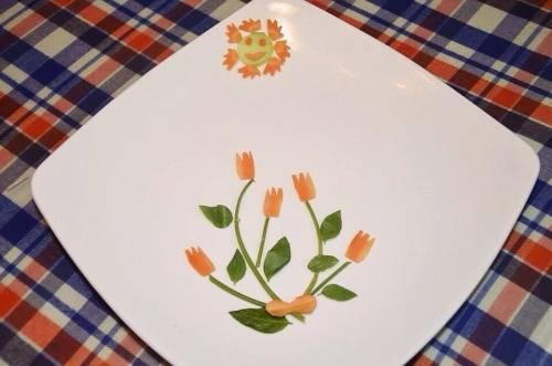 Trình bày món ăn hiện đại đẹp mắt và đơn giản với cà chua