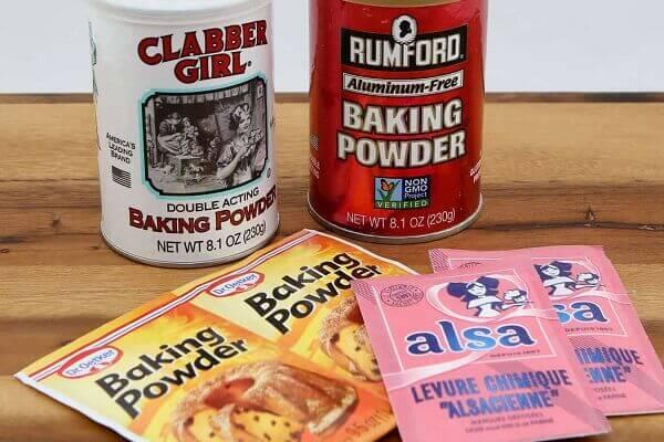 Muối nở (baking soda) được cho thêm với nhiệm vụ trung hòa tính a-xít trong công thức