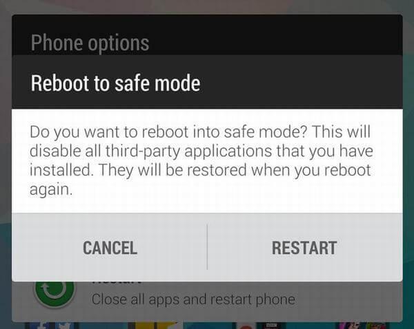 Đưa điện thoại Android của bạn về chế độ Safe mode