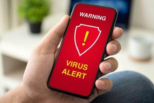 5 dấu hiệu và cách xử lý khi điện thoại bị nhiễm virus, cảnh báo android, iphone bị nhiễm virus khi duyệt web