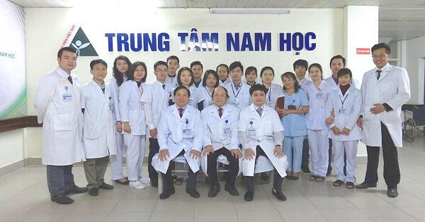 Đội ngũ bác sĩ tại Trung tâm Nam học - Bệnh viện Việt Đức