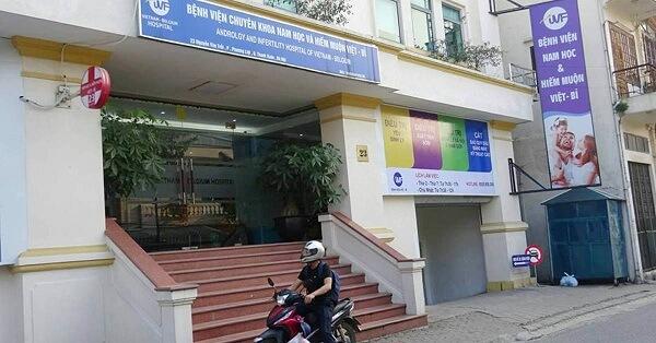 Bệnh viện Nam học và Hiếm muộn Việt Bỉ trên đường Nguyễn Văn Trỗi (Thanh Xuân)