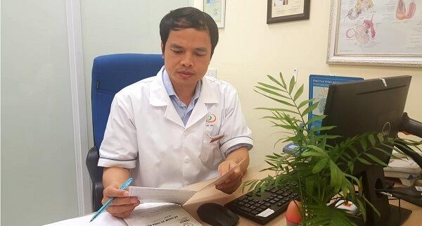 BS Nguyễn Bá Hưng có nhiều năm kinh nghiệm trong điều trị bệnh Nam khoa