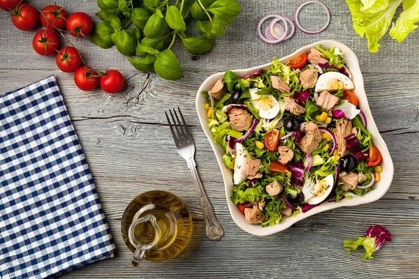 Hình ảnh những món ăn ngon: Các loại salad thanh mát