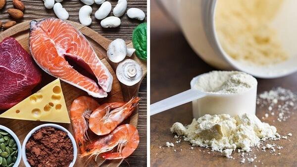 Nếu bạn nạp đường trước khi tập, hãy nạp 30g-40g đường thấp với 25g bột protein