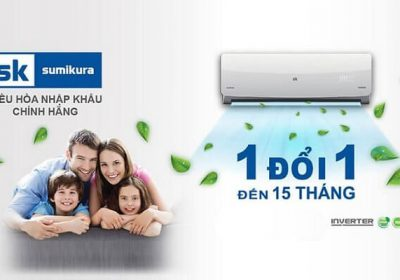 Lý do bạn nên mua máy lạnh Sumikura sử dụng trong mùa hè này