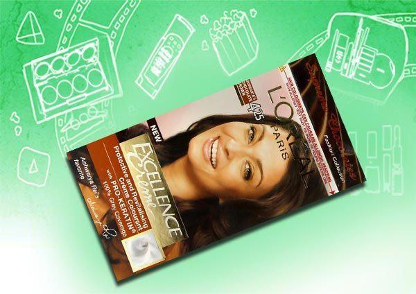 Thuốc nhuộm tóc L'oreal Shade Aishwarya's Brown màu nâu tối