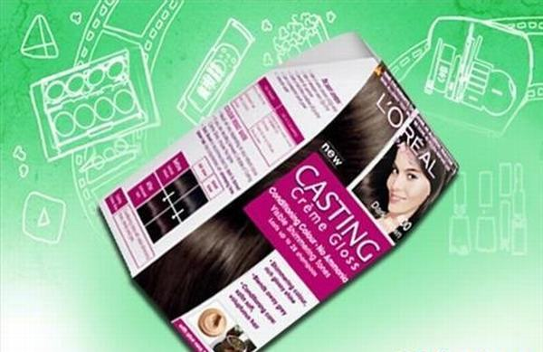 Thuốc nhuộm tóc L'oreal Shade Dark Brown màu socola
