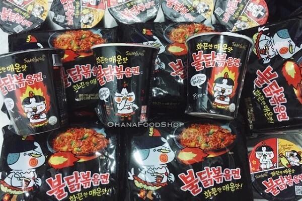4 điểm bán Mì cay Hàn Quốc gói, cách nấu mì cay Hàn Quốc Samyang, Ottogi tại nhà