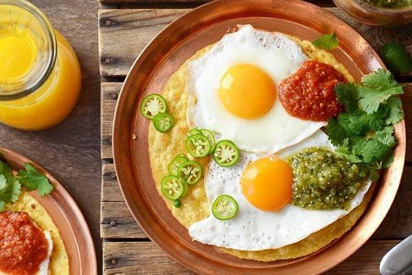Trứng - thức ăn chứa sắt