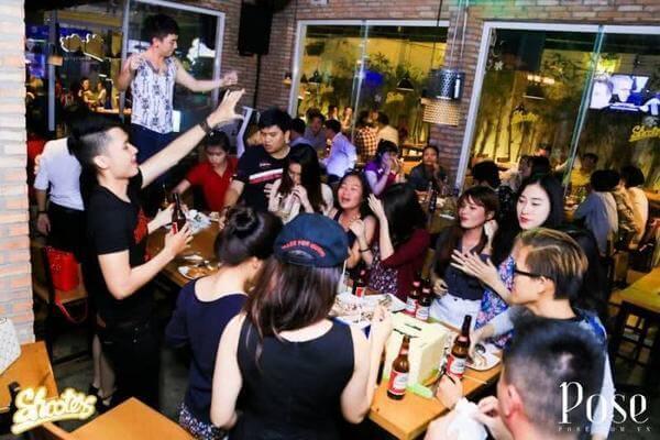 Quán nhậu 3: Shooters Beer Garden – Lê Quý Đôn, P. 7, Q. 3, Sài Gòn