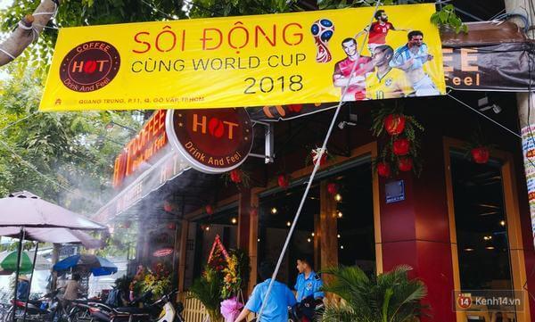 Quán café trực tiếp bóng đá rục rịch mùa World Cup