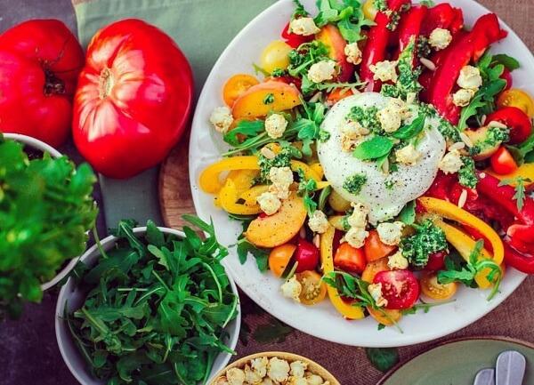 Thực đơn ngày 3: Ăn các loại rau quả của ngày 1 và ngày 2