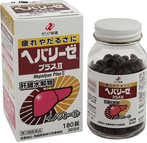 Viên uống bổ gan Liver Hydrolysate Nhật Bản 180 Viên
