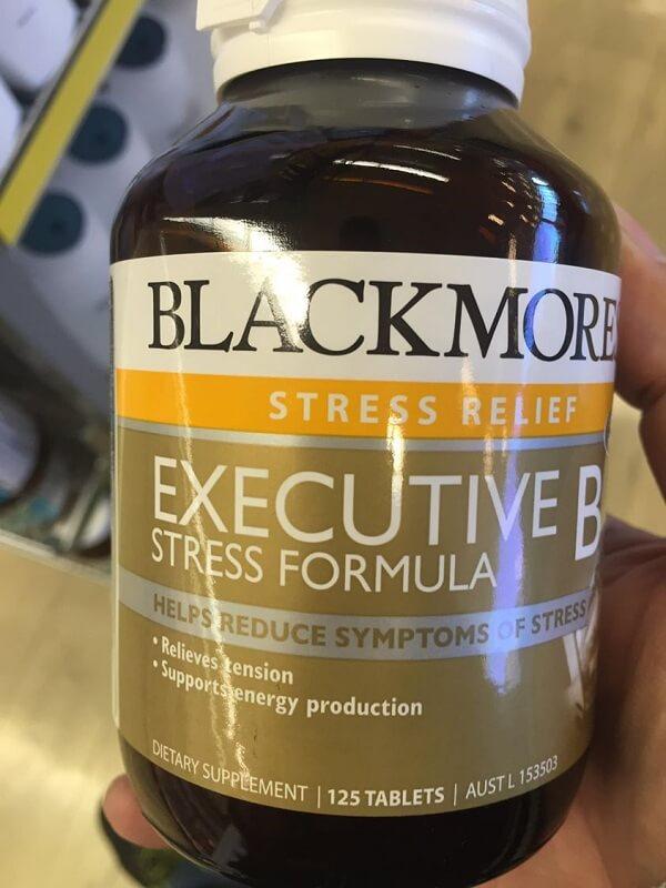 Viên Uống Blackmores Executive B Stress Formula Của Úc, 125 viên
