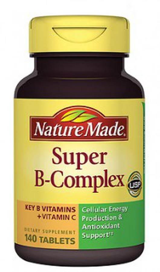 Viên Uống Vitamin B Complex Nature Made Chính Hãng Mỹ